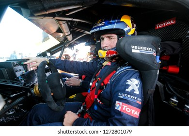 Dakar Rally 2018. Peru, Bolivia, Argentina. From Lima to Cordoba. 6/20 Jenuary 2018. Stephane Peterhansel, France, Peugeot.