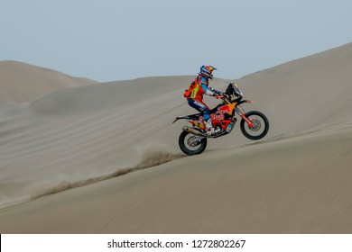 Dakar Rally 2018. Peru, Bolivia, Argentina. From Lima to Cordoba. 6/20 Jenuary 2018. Matthias Walkner, Austria, KTM, winner of Dakar 2018.