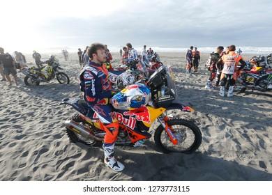 Dakar Rally 2018. Peru, Bolivia, Argentina. From Lima to Cordoba. 6/20 Jenuary 2018. Sem Sunderland, KTM.