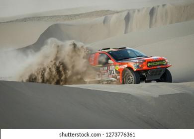 Dakar Rally 2018. Peru, Bolivia, Argentina. From Lima to Cordoba. 6/20 Jenuary 2018. Martin Prokop, David Pabiska, Czech Republic, Ford.