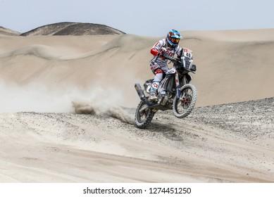Dakar Rally 2018. Peru, Bolivia, Argentina. From Lima to Cordoba. 6/20 Jenuary 2018. Santosh CS, India, Hero.