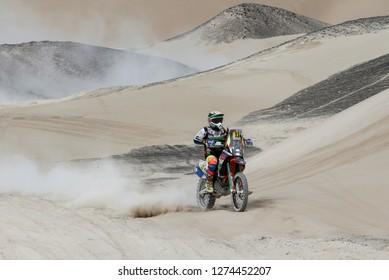 Dakar Rally 2018. Peru, Bolivia, Argentina. From Lima to Cordoba. 6/20 Jenuary 2018. Juan Carlos Salvatierra, Bolivia, KTM.