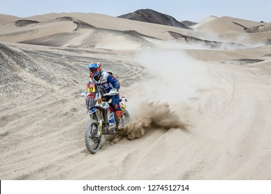 Dakar Rally 2018. Peru, Bolivia, Argentina. From Lima to Cordoba. 6/20 Jenuary 2018. Armand Monleon, Spain KTM.