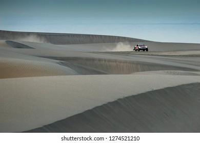 Dakar Rally 2018. Peru, Bolivia, Argentina. From Lima to Cordoba. 6/20 Jenuary 2018. Sebastien Loeb and Daniel Elena, Peugeot 3008 DKR.