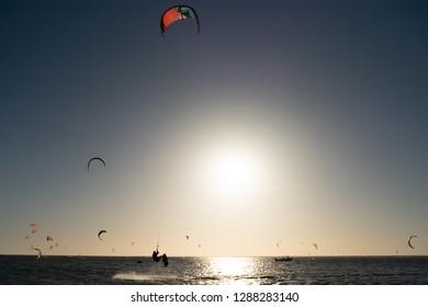 Dakhla Morocco Kitesurfers