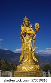 Dakini statue at Kuensel Phodrang Buddha Dordenma