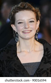 """Dakota Blue Richards arrives for the""""Transformers 3: Dark of the Moon 3D"""" screening at the IMAX Cinema, South Bank, London. 26/06/2011  Picture by: Steve Vas / Featureflash"""