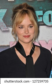 Dakota Johnson, daughter of Melanie Griffith & Don Johnson, at the Fox Summer 2012 All-Star Party in West Hollywood. July 24, 2012  Los Angeles, CA Picture: Paul Smith