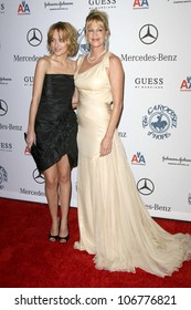Dakota Johnson and Melanie Griffith  at the 30th Annual Carousel of Hope Ball to benefit the Barbara Davis Center for Childhood Diabetes, Beverly Hilton, Beverly Hills, CA. 10-25-08