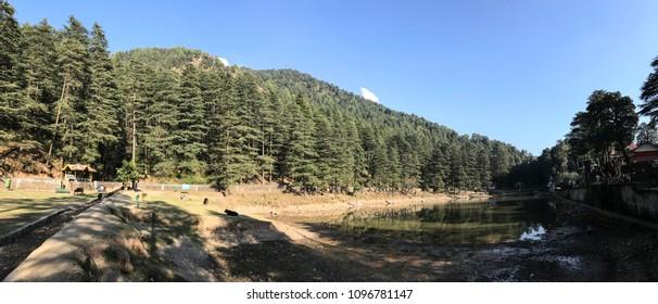 Dal Lake near McleodGanj, Himachal Pradesh,India.
