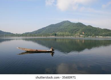 Dal Lake Srinagar Kashmir India