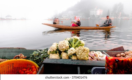 Dal Lake is a lake in Srinagar, Kashmir, India
