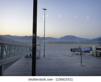 DALAMAN, TURKEY - MAY 7 2014: Dalaman International Airport