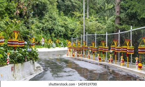 Dalhousie, Chamba, Himachal - 21 July, 2019 - A view of Beeji's Park in Dalhousie