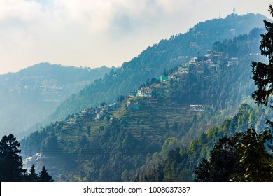 Dalhousie, Himachal Pradesh, India, Asia - View of beautiful homes in the town.