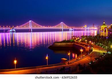 The Dalian Xinghai Bay cross-sea bridge