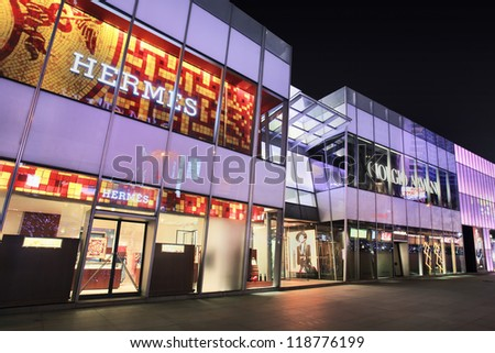 6e48c396b1fa DALIANNOV 7 2012 Hermes Outlet On Stock Photo (Edit Now) 118776199 ...