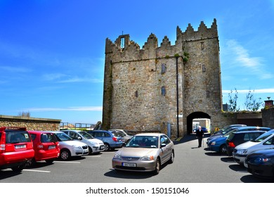DALKEY, IRELAND – CIRCA JUNE: Bulloch Castle circa June, 2013 in Dalkey, Ireland. The castle was built in 1150 to defend Bulloch Harbour, Ireland's earliest main port.