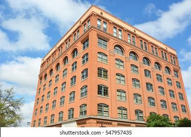 Dallas County Administration Building in downtown Dallas, Texas