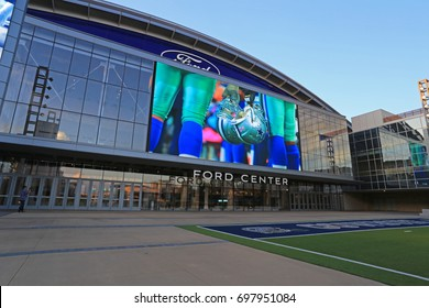 DALLAS COWBOYS HEADQUARTER FRISCO AUG 2017: The Star, 91-acre campus, is the headquarters of the Dallas Cowboys in Frisco, Texas and offers a look inside the entire operation of the Dallas Cowboys.