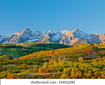 The Dallas Divide is a Colorado icon, well known for its vivid fall colors produced by scrub oak and aspens.