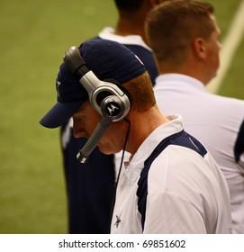 DALLAS - JAN 6: The Dallas Cowboys named Jason Garrett their head coach on January 6, 2011.