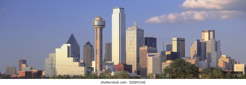 Dallas, Sunset, Texas