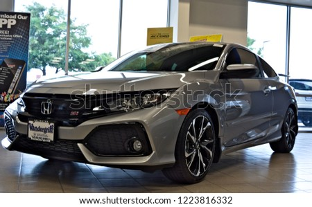 Honda Dealership Dallas Tx >> Dallas Texas September 21 2018 2019 Stock Image Download Now