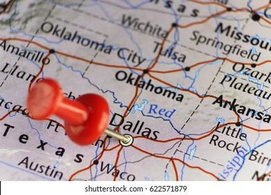 Dallas, Texas, USA. Copy space available.