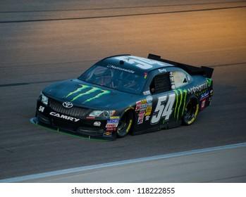DALLAS, TX - NOVEMBER 02: Kyle Busch at the Nascar Nationwidet Cup Practice at Texas Motorspeedway in Dallas, TX on November 02, 2012