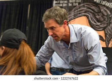 Dallas, Tx / USA - 11 05 2018: Beto O'Rourke Final Midterm Senate Campaign Rally in Dallas