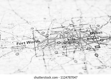Dallas, United States map