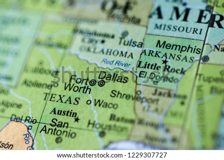 Dallas USA On Geography Map Stock Photo (Edit Now ... on doppler radar map of usa, map south of usa, russian map of usa, transportation map of usa, hydrology map of usa, united states map of usa, cancer map of usa, earth map of usa, physics map of usa, ireland map of usa, groundwater map of usa, geophysical map of usa, people map of usa, tectonic plates map of usa, elevation map of usa, death map of usa, illustration map of usa, cartogram map of usa, geopolitical map of usa, business map of usa,
