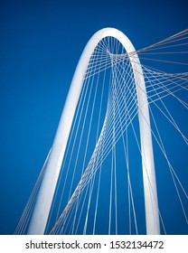 Dallas,Texas / USA - October 3 2019 : Dallas Bridge During daytime
