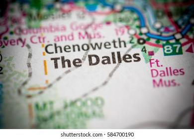 The Dalles. Oregon. USA