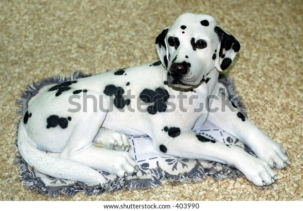 Dalmatian Dog Figurine
