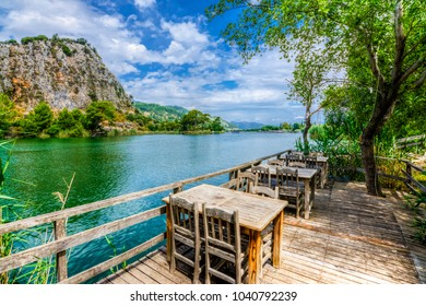 Dalyan canal view. Dalyan is populer tourist destination in Turkey.