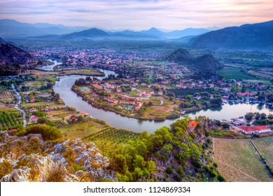 Dalyan Panorama from Above, Turkey