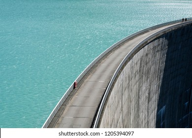 Dam in the austrian alps, Austria, Europe