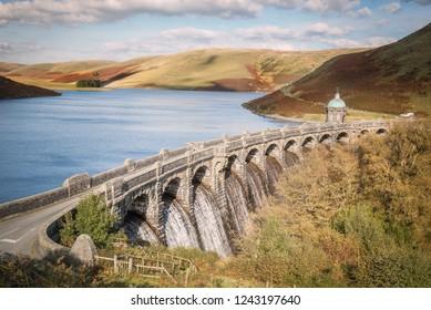 Dam in the Elan Valley