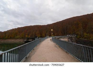 The dam of Irabia, Navarra, Spain