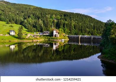 The Dam in Spindler Mlyn, Chech Republic