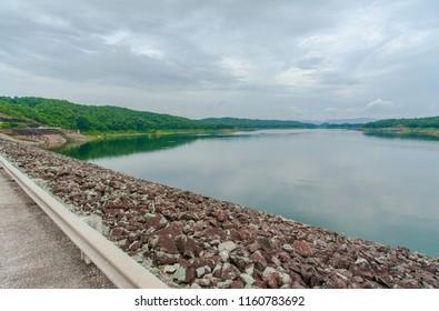 Dam in Thailand.