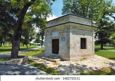 Damad Ali Pasha's turbe, Kalemegdan, June 24, 2019. Belgrade Fortress consists of the old citadel and Kalemegdan Park on the confluence of the River Sava and Danube.