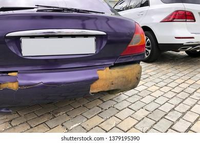 Car Paint Damage Images, Stock Photos & Vectors | Shutterstock