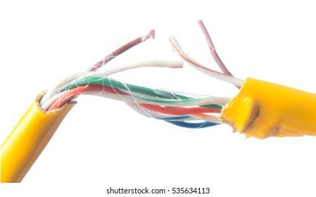 Broken Wire Images, Stock Photos & Vectors | Shutterstock