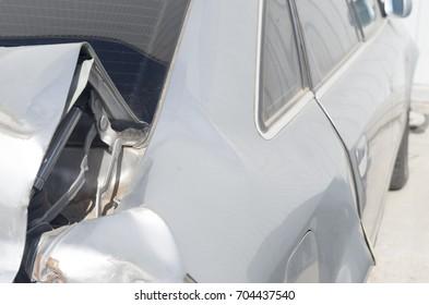 Damage to the vehicle