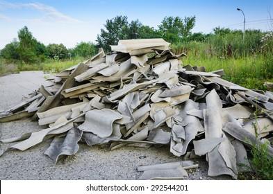 Damaged Asbestos