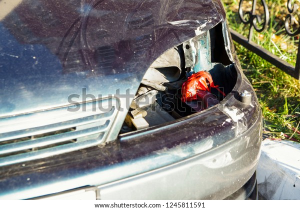 Car Body Parts >> Damaged Car Body Parts Rust Accident Stock Photo Edit Now