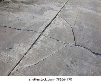 Damaged Concreate Floor